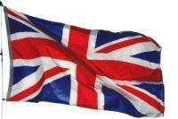 Vuelos a Londres. Bandera Británica
