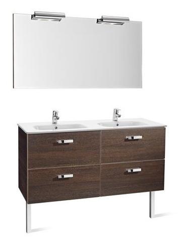 mueble de baño doble seno